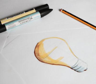 Sketching y renderizado de productos