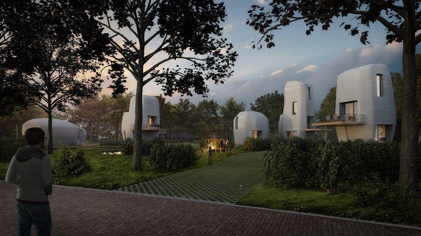 casa 3d en Holanda