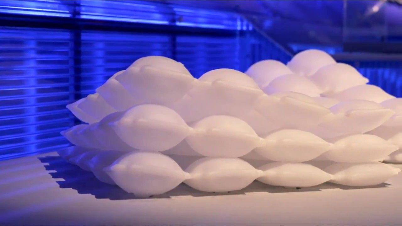 Material de impresión 3D inflable