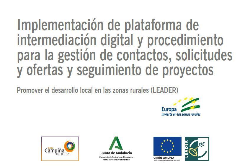 Plataforma de intermediación. Proyecto 3D UNICOM INNOVA